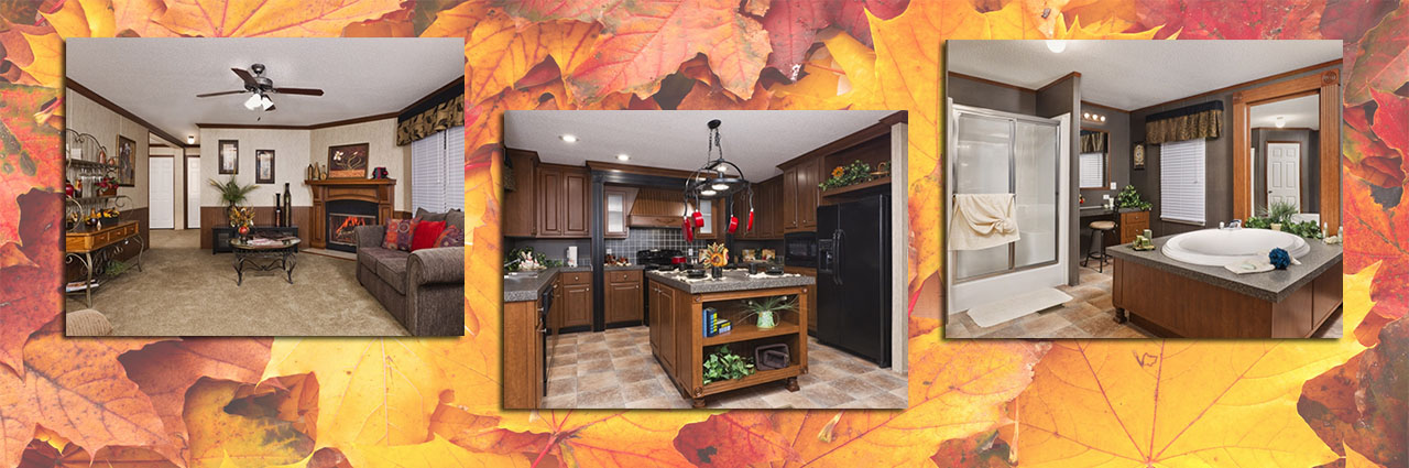 River Birch 32x80 | 3 bed/2 bath | $78,900 delivered, setup and skirted | Only $579/month